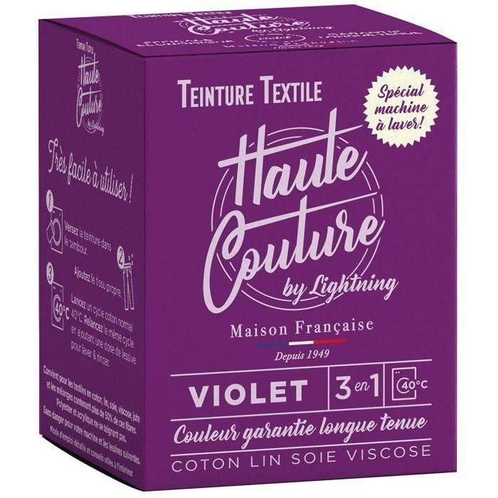 Teinture textile haute couture violet 350g