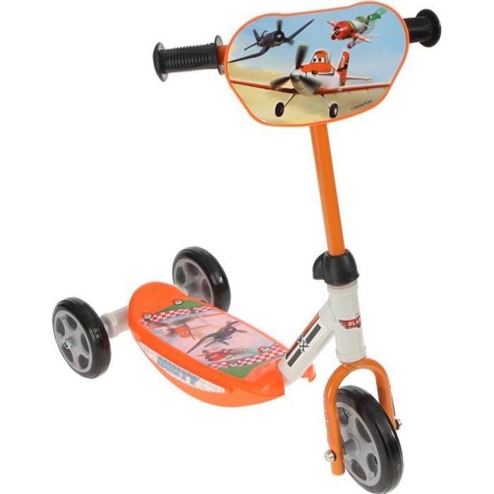 PLANES Trottinette enfant 3 roues