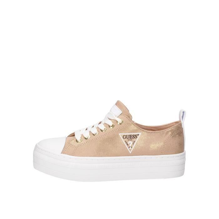 Guess FL6BRSFAB12 chaussures de tennis Femme or