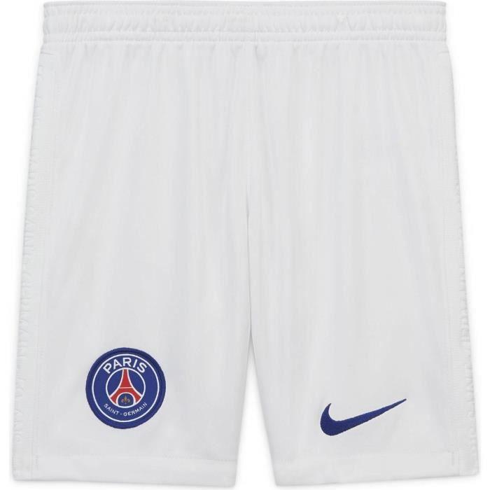 Short Nike Psg Exterieur 2020-21 blanc homme