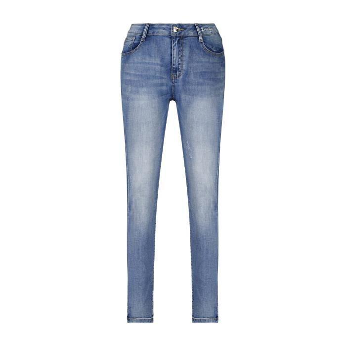 DEELUXE Jeans slim stretch GABY Light Blue Denim