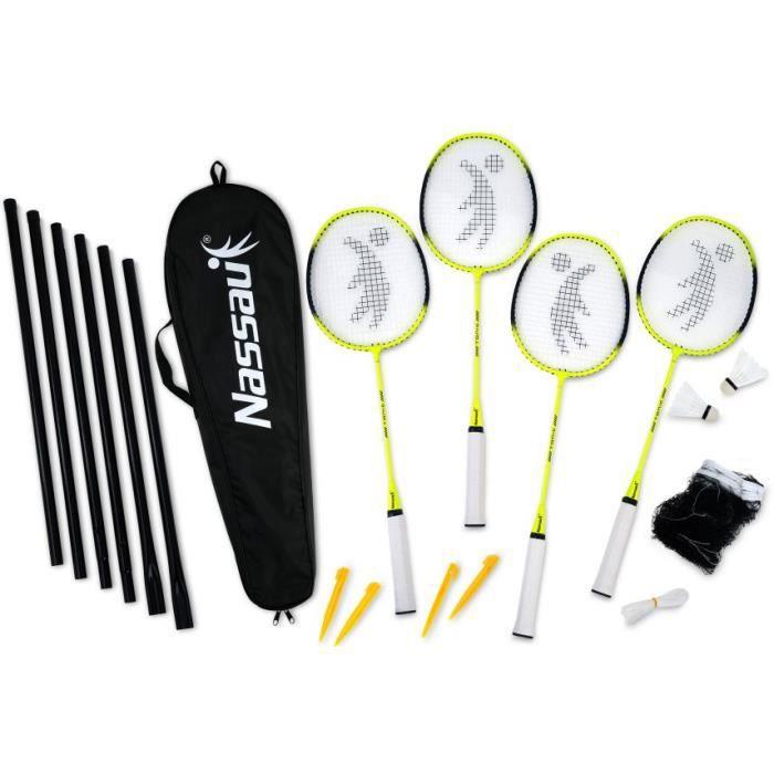 NASSAU set de badminton