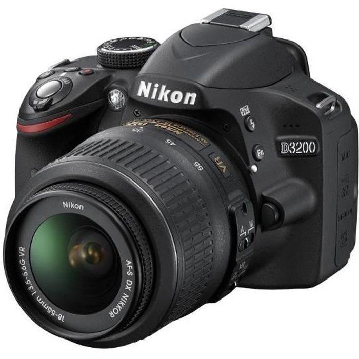 NIKON D3200 - APPAREIL PHOTO NUMÉRIQUE + OBJECT…