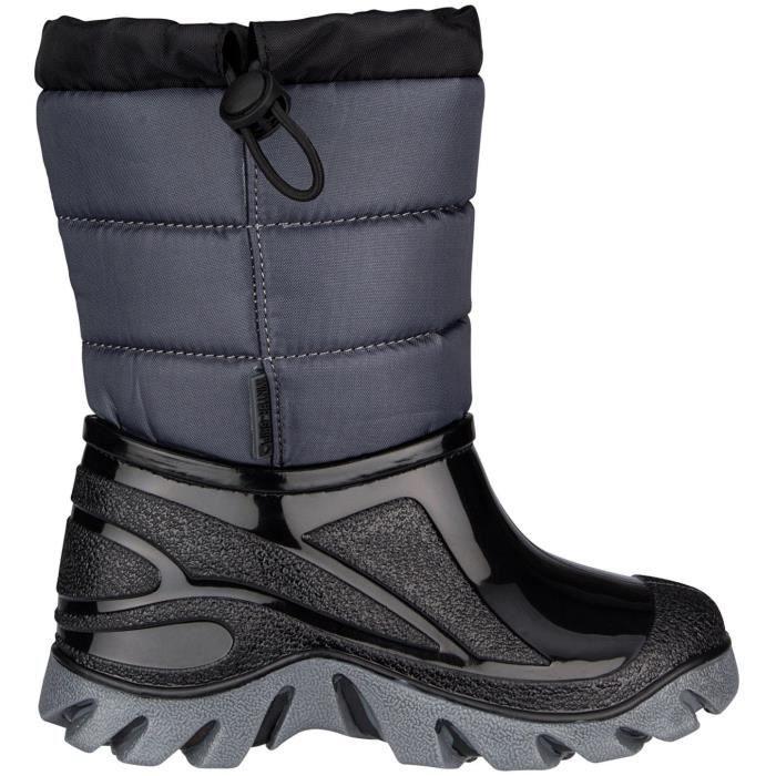 WINTER-GRIP Chaussures Apres ski - Enfant - Noir