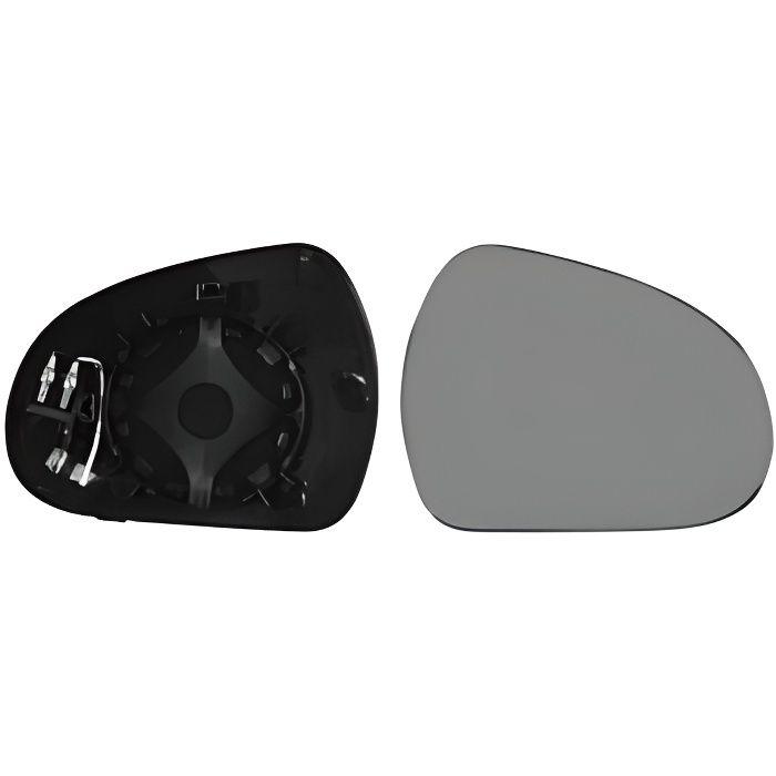 Miroir Glace rétroviseur droit PEUGEOT 207 phase 2, 2009-2012, à clipser, Neuf.