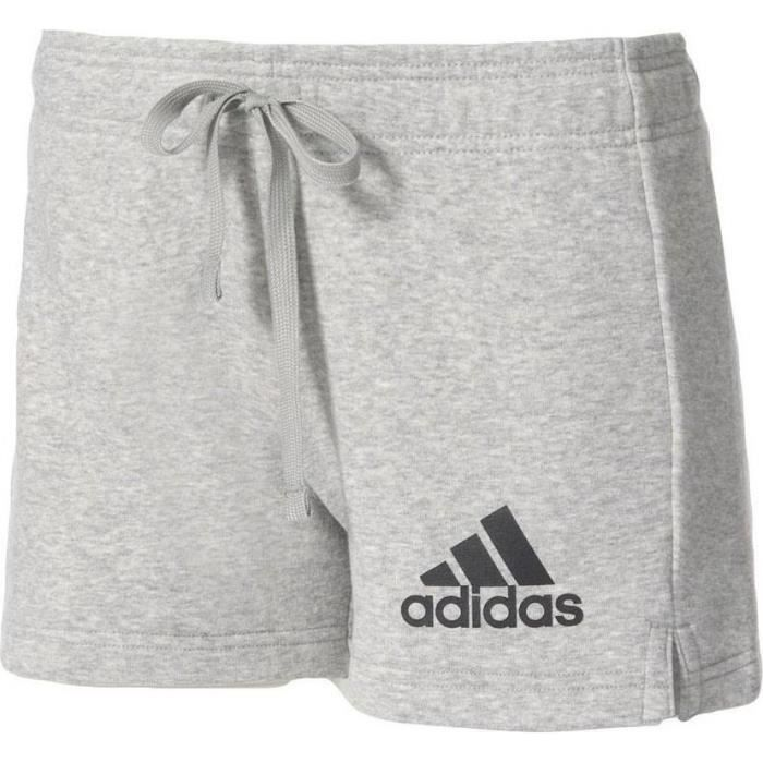 ADIDAS ORIGINALS Short Femme Gris Clair