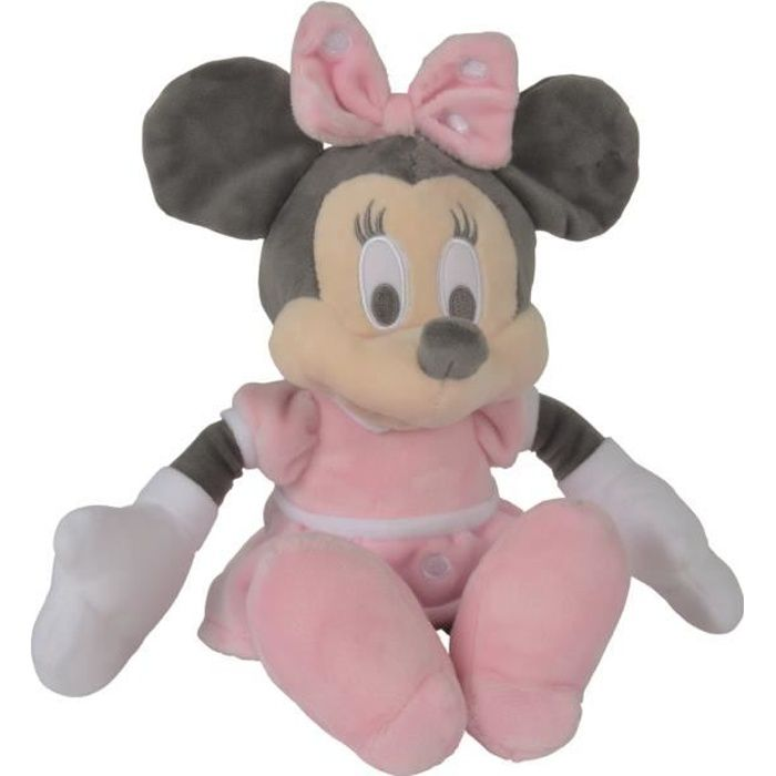 MINNIE Peluche Rose 25 cm - Disney baby Tonal