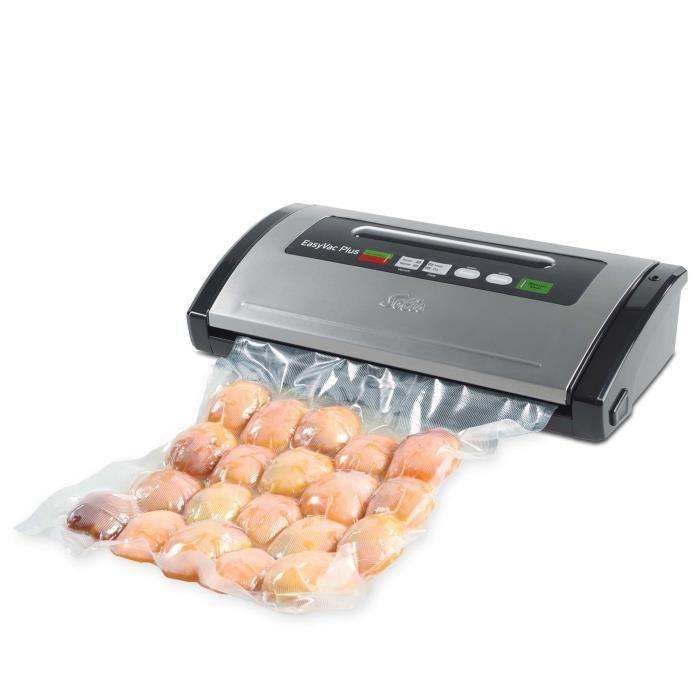 Machine Sous Vide Alimentaire - Fonction de Marinage - Gris - Vac Plus 571 Solis