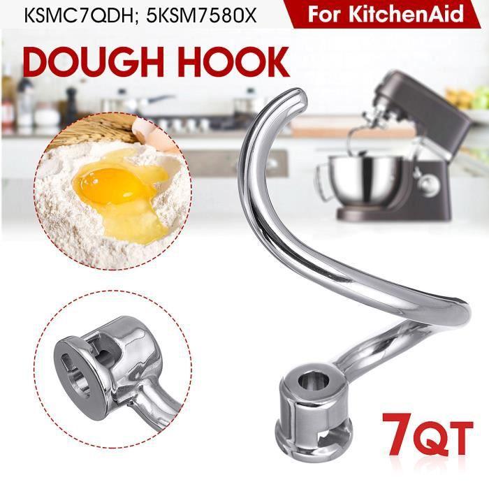 Crochet à pâte Pour KitchenAid Mixer Accessoire 7 Quart KSMC7QDH 5KSM7580X