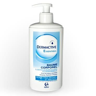 Dermactive baume corporel 400ml achat vente hydratant for Meuble corporel