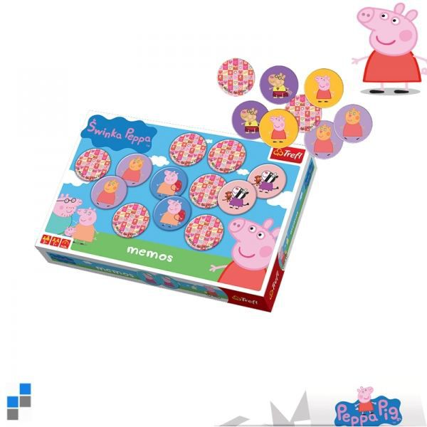 peppa pig jeu de memo 60 cartes achat vente domino memory loto peppa pig jeu de memo. Black Bedroom Furniture Sets. Home Design Ideas