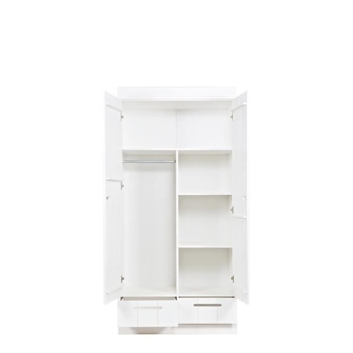 Am nagement int rieur connect armoire 2 portes achat for Amenagement interieur armoire