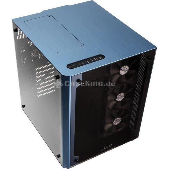 BOITIER PC  Boitier Logement Lian Li PC-O8WBU ATX - bleu