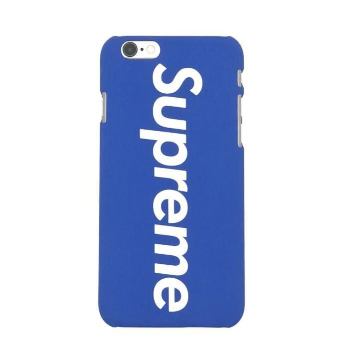 coque iphone se 2020 8 7 bleu supreme coque compat