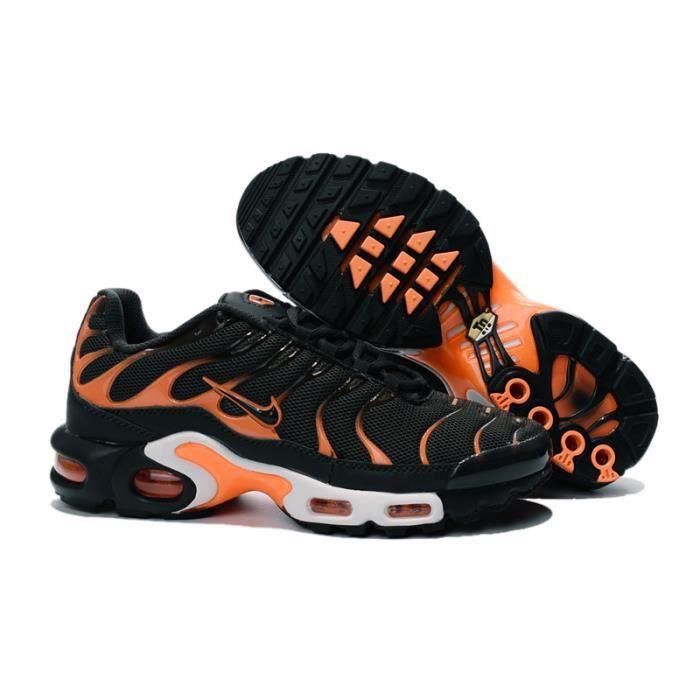 Nike Air Max Plus TN Orange et Noir - Cdiscount Chaussures