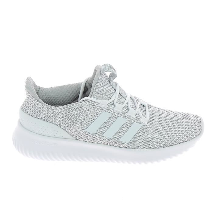 Basket mode - Sneakers ADIDAS Cloudfoam Ultimate Gris Blanc i4q7Mxf7XX