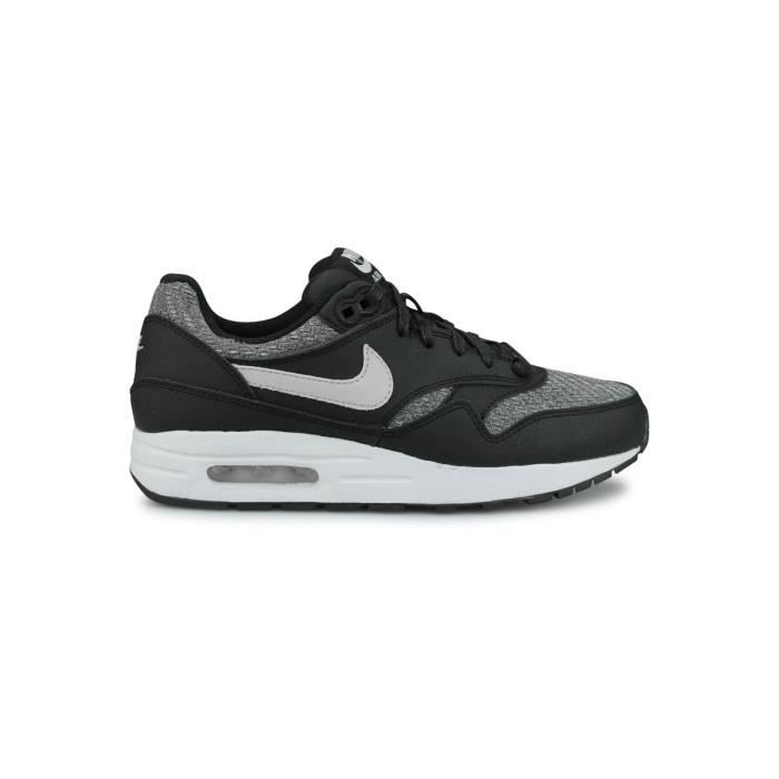 buy popular pre order purchase cheap Baskets Nike Air Max 1 Se Junior Noir. Noir - Achat / Vente basket ...