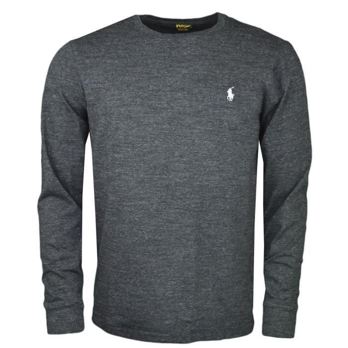 T-shirt manches longues Ralph Lauren noir
