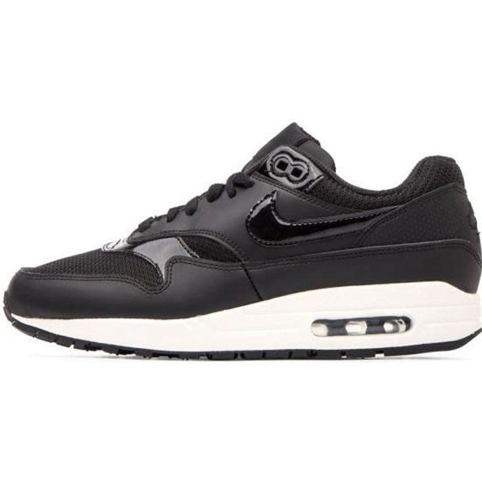Basket Nike AIR MAX 1 - Ref. 319986-039 Noir - Cdiscount Chaussures