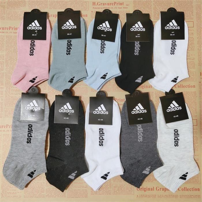CHAUSSETTES 5 paires Adidas Chaussettes hommes invisibles Coto