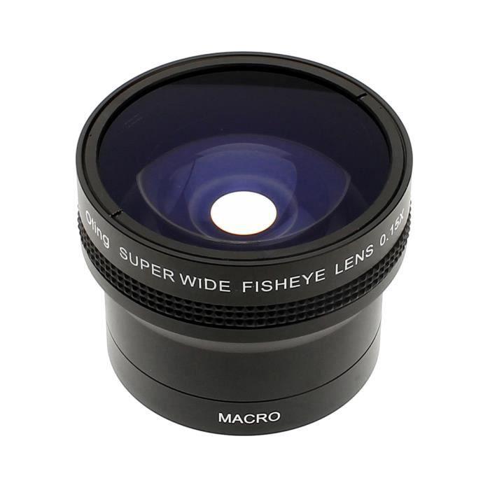 OBJECTIF Objectif Fisheye 0,15x avec Macrophoto pour Nikon