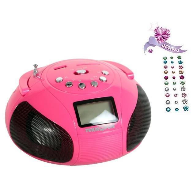 RADIO CD ENFANT TEKNOFUN Tour Speaker Bluetooth Paris