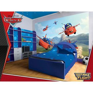 papier peint cars achat vente papier peint cars pas. Black Bedroom Furniture Sets. Home Design Ideas