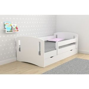 lit enfant avec barriere de securite achat vente lit. Black Bedroom Furniture Sets. Home Design Ideas