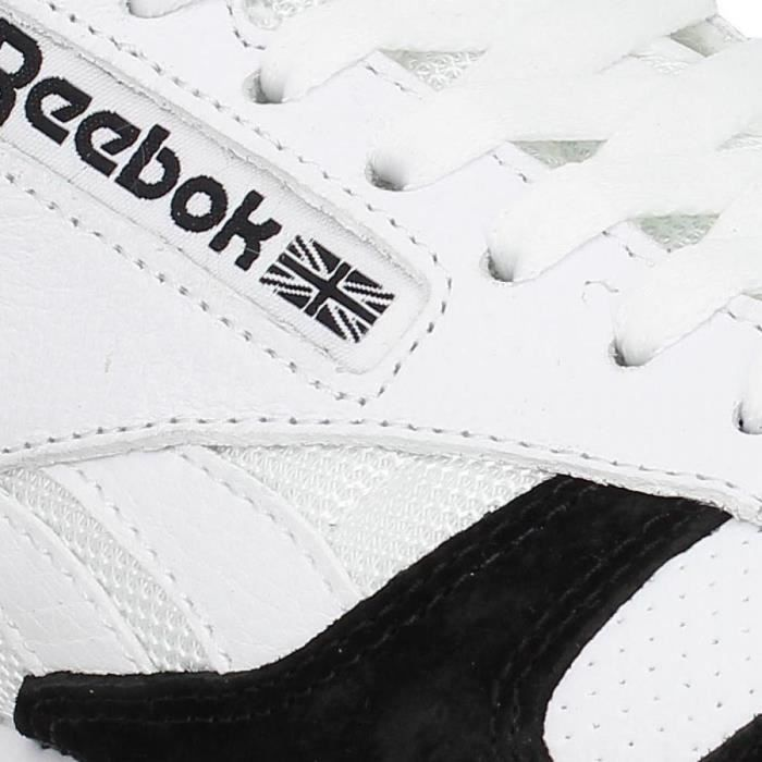 Baskets REEBOK Classic Leather SPP-43-Blanc Noir