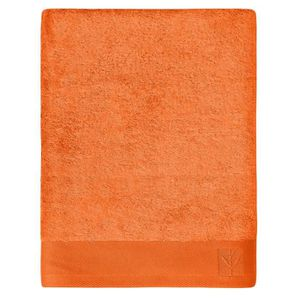 SANTENS Serviette de Toilette BAMBOO Orange 50 x 100 cm