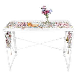 NAPPE DE TABLE Nappe de couverture de chemin de table d'impressio