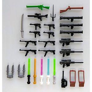 ASSEMBLAGE CONSTRUCTION Jeu D'Assemblage O28Y6 Lot de 31 armes Accessoires