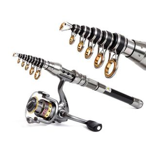 CANNE À PÊCHE DPP60823564@1.8M Telescopic Fishing Rod Short Mini