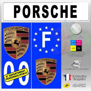plaque porsche achat vente plaque porsche pas cher soldes cdiscount. Black Bedroom Furniture Sets. Home Design Ideas