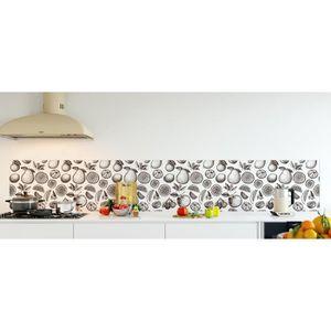 CREDENCE Crédence de cuisine adhésive  en Panneau composite