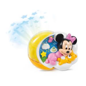 VEILLEUSE BÉBÉ Proiettore Clementoni Disney Baby Minnie Magiche S