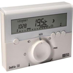 THERMOSTAT D'AMBIANCE DELTA DORE Thermostat d'ambiance Deltia 8.00 progr