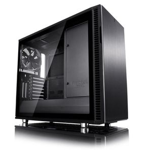 BOITIER PC  Fractal Design Define R6C Blackout Tempered Glass