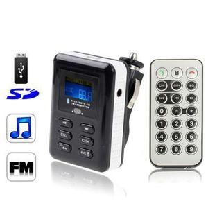 TRANSMETTEUR FM Transmetteur FM-MP3-Bluetooth mains-libres voiture
