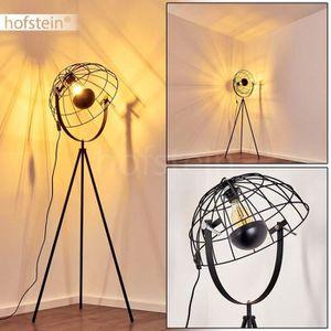 LAMPADAIRE Lampadaire Saturn, luminaire vintage en métal avec