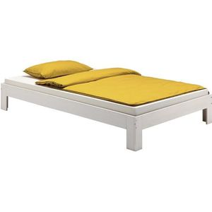 STRUCTURE DE LIT Lit futon THOMAS couchage simple 120 x 200 cm 1 pl