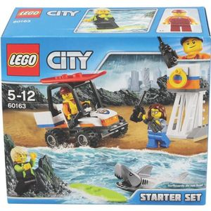 ASSEMBLAGE CONSTRUCTION LEGO® City 60163 Ensemble de Démarrage des Gardes-