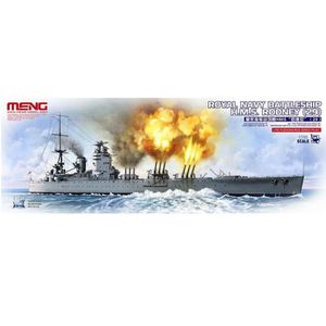 MAQUETTE DE BATEAU Maquette bateau : Royal Navy Battleship H.M.S Rodn