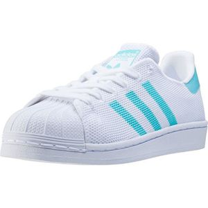 BASKET adidas Superstar W Femmes Baskets White Blue - 8 U