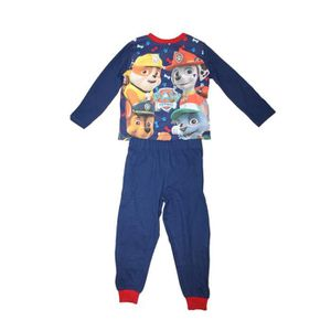 PYJAMA pyjama pat patrouille bleu foncé et rouge