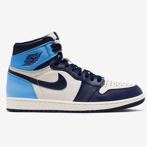 jordan air 1 bleu