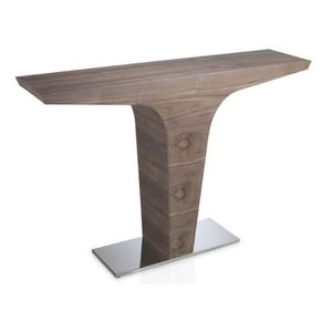 "CONSOLE Console Design ""blanca"" 150cm Naturel - Paris Prix"