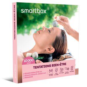 COFFRET SÉJOUR SMARTBOX - Coffret Cadeau - TENTATIONS BIEN-ÊTRE -