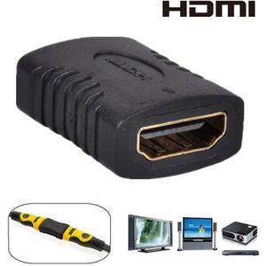 CÂBLE TV - VIDÉO - SON TEMPSA Adaptateur HDMI Femelle/Femelle Rallonge Ra
