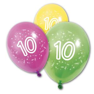 Ballons Anniversaire 10 Ans